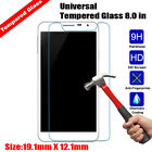 Universal 7 inch/Universal 8 inch Genuine Tablet Tempered Glass Screen Protector