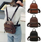 Women's Faux Leather Small Backpack Rucksack Daypack Travel Bag Purse Retro