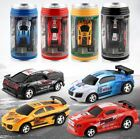 Lot* Coke Can Mini RC Car Radio Remote Control Micro Racing Car Toy For Children