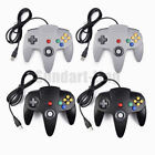 Lot 1/2/4 Classic Retro N64 Bit USB Wired Controller Gamepad For Win 8/10 XP Mac