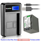 Kastar Battery LCD Charger for Sony NP-FP50 NP-FP90 NP-FP...