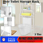 3 Tier Over Toilet/Laundry Washing Machine Bathroom Storage Rack Shelf Organizer