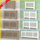 White Radiator Painted/Natural Cover MDF Shelf Large Cabinet Wood   UnPainted U