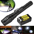 Ultrafire 90000 Lumen 5 Modes T6 Zoomable 18650 LED Flashlight Torch USA