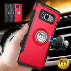 For Samsung Galaxy S9/S8 Plus/Note 8 Shockproof Ring Rugged TPU Back Case Cover