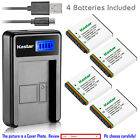 Kastar Battery LCD Charger for POLAROID T10035 T1031 T-1031