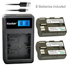 Kastar Battery LCD Dual Charger for Canon BP-511A Canon EOS 5D EOS 10D EOS 20D