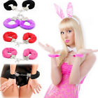 Sexy Fuzzy Handcuffs Night Club Party Costume Cosplay Restraint Bed Toy