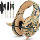 3.5mm Gaming Headset Mic Headphones Stereo Surround for Nintendo Switch Xbox ONE