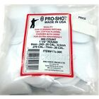 Pro-Shot Rifle / Shotgun Cleaning Patches for  .22 .177 .270 .308 etc