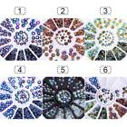 Nail Art Clip 3D Rhinestone Glitter Beads Acrylic Decoration Manicure Wheel 1Box for sale  Shipping to Canada