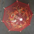 Small Lace Embroidered Parasol Umbrella for Wedding Party Decoration / 8