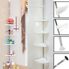 Bathroom Shower Caddy Shelf Corner Bath Wall Mount Rack Storage Holder Organizer