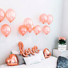 Giant Rose Gold Love Balloons Series Heart Balloons Hen Party Wedding Engagement