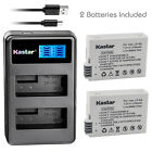 Kastar Battery LCD Dual Charger for Canon LP-E8 LC-E8 Canon EOS Rebel T4i Camera