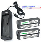 canon selphy battery - Kastar Battery Charger for Canon NB-CP2L CG-CP200 & SELPHY CP910 Photo Printer