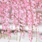 2M Cherry Blossom Vine Artificial Fake Sakura Vines Wedding Party Home Decor