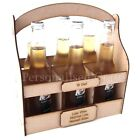 Personalised Fathers Day / Christmas / Birthday  Wooden MDF Beer Crate Holder