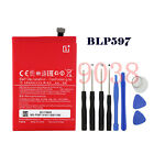 New Original OnePlus Battery For OnePlus One/Two/Three/3/2/1/X /3T with Tools <br/> Model BLP571,BLP597,BLP613,BLP633,BLP607