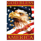 Eagle and Stars American Garden Flag House Flag Yard Banner Double-sided