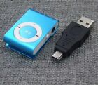 Mini MP3 Player with USB Connector Portable Metal Clip Touch Tone MP3 3.5mm New
