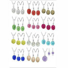 Jewelry Sets For Women Gifts Austrian Crystal Cz Cubic Zircon Disco Ball Charms