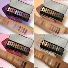 Beauty 12 Rose Gold Colors Textured Eyeshadow Palette Makeup Contour Metallic