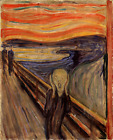 The Scream by Edvard Munch, Giclee Canvas Print, in various sizes