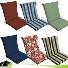 Chair Cushion Seat Pads With Ties Multiple Colors Backyard Garden Outdoor Patio