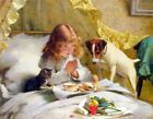 Kyпить Suspense by Charles Burton Barber, Giclee Canvas Print, in various sizes на еВаy.соm