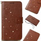 For Samsung Galaxy S9/S8 Plus/J7 S3 Pattern Leather Wallet Phone Case Flip Cover