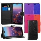 For Huawei P20 Pro / Plus - Premium Leather Wallet Flip Case Cover + Screen