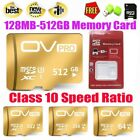 8-512GB Micro SD card TF Speed Flash Memory Card Class 10 for Cell phone Camera
