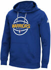 Golden State Warriors Royal Adidas New Ball Graphic Synthetic Climawarm Hoodie on eBay