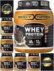 60g Whey Protein Powder 12g BCAA Amino Acids + Creatine Muscle Gain Nutrition