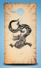 CHINESE NEW YEAR OF THE DRAGON #1 HARD CASE SONY XPERIA C3 C4 E4 M2 M4 SP T2 T3