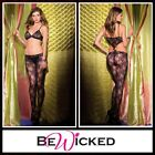 Bodystocking aperta Cut Out Front Be Wicked Sexy Lingerie Intimo Donna Sex Toys