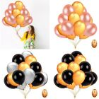 "15pcs/set Large 18"" Confetti Latex Balloons Wedding Party Baby Shower Birthday"