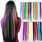 """33 Style Fashion Wig 1 Streak 22"""" Clip in Hair Extensions choose colors"""