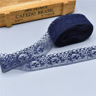 Hot! 10 Yards Lace Ribbon 40MM Lace Trim DIY Embroidered For Sewing Decoration