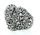 King Baby Studio Engraved Baroque Heart Ring  K20-6072