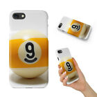 SNOOKER POOL TABLE BALLS 8 HARD PHONE CASE COVER FOR APPLE IPHONE $8.95 USD on eBay