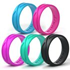 Women Silicone  Wedding Ring | Band – 5 Rings - Rinfit