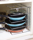 Внешний вид - Cabinet Door Lid Organizer Rack Pot Pan Lid Storage Holder Kitchen Organization