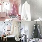 Kids Baby Bed Canopy Bedcover Mosquito Net Curtain Bedding Dome Tent Cotton home