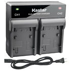 Kastar Battery Dual Rapid Charger for Canon LP-E17 LC-E17 Canon EOS 800D Camera
