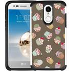 For LG Tribute Dynasty / LG Aristo 2 / Fortune 2 Dual Layer Phone Case Cover