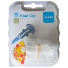 MAM Clip Pacifier Keeper Wildlife, All Ages, BPA FREE