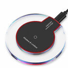 Qi Wireless Charger Dock Charging Pad For iPhone 8 Plus X XS XR Samsung S8 Note9
