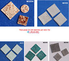 ELEMENTS  - HANDMADE, CERAMIC CLAY  MOSAIC TILES ( Pick you Group ) #4